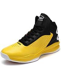 SINOES Unisex Basketball Schuhe Outdoor Anti-Rutsch Sneaker High-Top  Sportschuhe Laufeschuhe Atmungsaktiv Ausbildung f41156c947