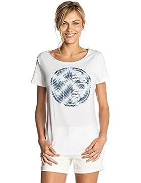 Rip Curl donna ibisco spiaggia a maniche corte, donna, GTEQG4, White, M