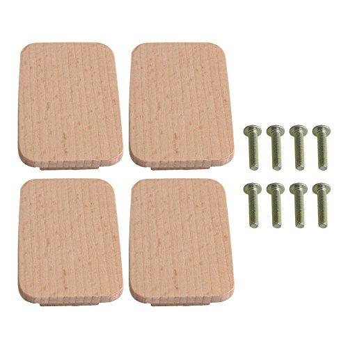 Holz Kabinett Pull (yibuy 432mm Möbel aus Holz Kabinett Knauf Schublade Kleiderschrank Tür Pull Griff)