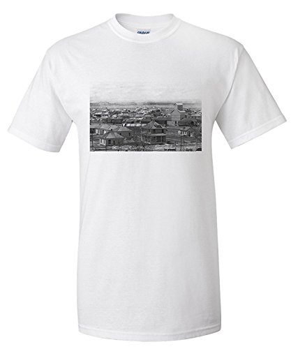 sterling-colorado-western-view-of-the-town-from-the-court-house-premium-t-shirt