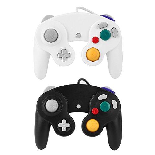 Bemall Wired Game Controller Joystick Classic Fernbedienung Pro Gamepad Schock für Nintendo WII Free 2 (Juego Video Wii De)