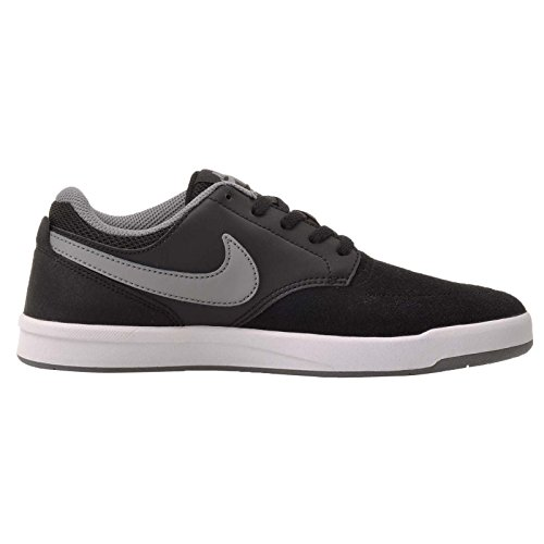 Nike Sb Fokus, Scarpe da Skateboard Bambino Nero/grigio-bianco (Black/Cool Grey-White)
