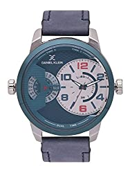 Daniel Klein Analog Blue Dial Mens Watch-DK11413-2
