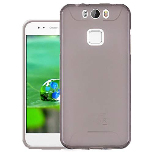 Easbuy Handy Hülle Soft Silikon Case Etui Tasche für Gigaset Me Pro 5,5 Zoll GS57-6 Smartphone Cover Handytasche Handyhülle Schutzhülle