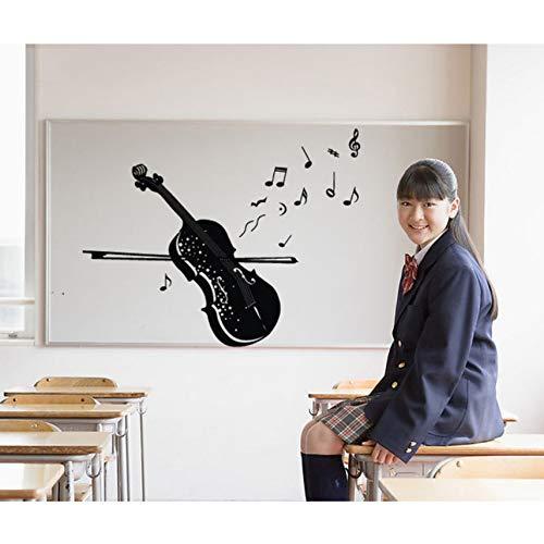 künste, Die Schule Notieren, Beschriftet Violine Klavierhintergrund-Wandaufkleber ()