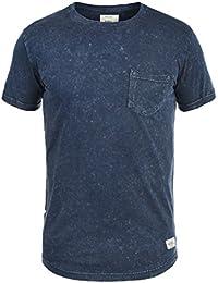 REDEFINED REBEL Myles Herren T-Shirt Acid-Washed