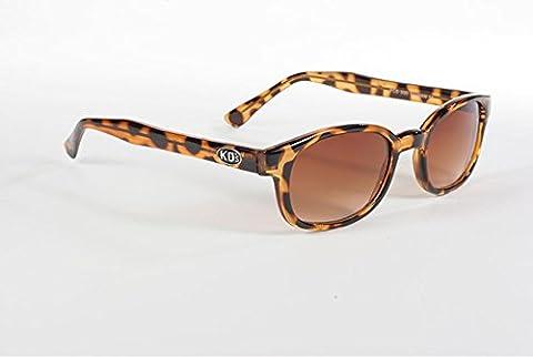 Original KD's par Pacific Coast Sunglasses KDs portées par Jax Teller sur Sons of Anarchy KD Dégradé tortue marron