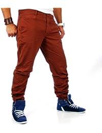 Vsct Herren Chino Hose Cinnamon V-5640619 Rot