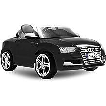 Audi RS5Luxus Niños eléctrico batería eléctrica Cabrio coche deportivo Spyder Cross Dirt Pit Bike 2x 30W 12V Control Remoto