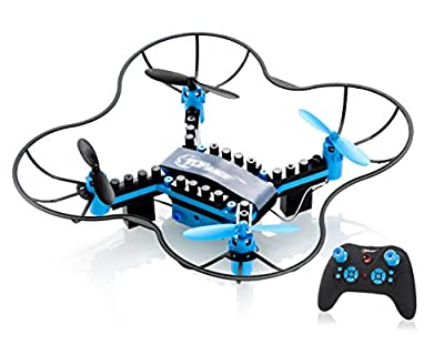 Top Race DIY Drone Building Blocks 2.4GHz Remote Control Drone, Build it Yourself and Fly, 54 Pieces (TR-D5) for ages 14+ by Top Race