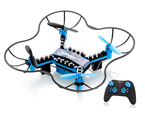 Composantes DIY de Top Race, Drone Télécommandé à 2.4GHz (TR-D5) pour Les Enfants de 14 Ans et Plus