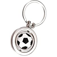 Salamii 3D rotierenden Fußball Fußball Keychain Sport Schlüsselring Tasche Brieftasche Autoschlüssel Anhänger Geschenk