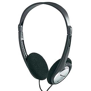 Panasonic RP-HT030E-S Kopfhörer (faltbar für den kompakten Transport, besonders leicht und angenehm zu tragen) silber