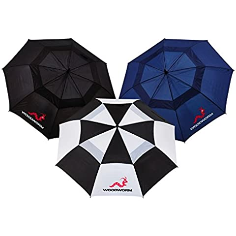 Woodworm - Paraguas con doble toldo para golf