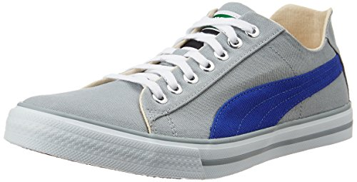 Puma Unisex Hip Hop 5 Idp Quarry and Royal Blue Sneakers - 8 UK/India (42 EU)