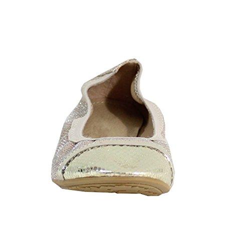 By Shoes - Damen Ballerinas Gold