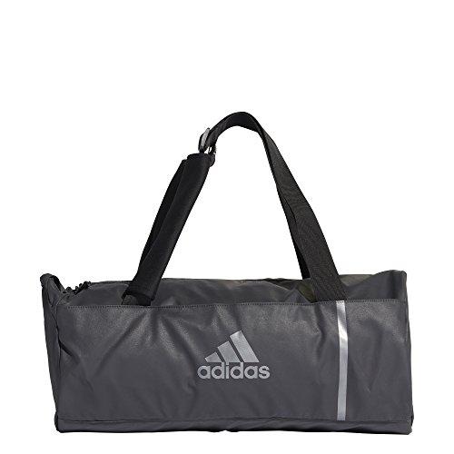 adidas Erwachsene Training Convertible S Sporttasche Carbon/Night Metallic 47 x 22 x 22 cm