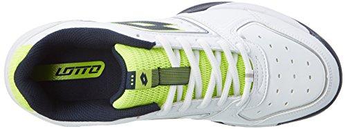 Lotto Tour IX 600, Scarpe da Tennis Uomo Bianco (Wht/blu Avio)
