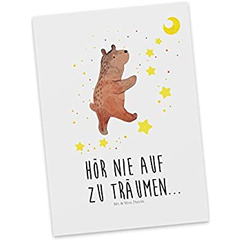 Mr. U0026 Mrs. Panda Postkarte Bär Träume   100% Handmade In Norddeutschland    Bär, Träumen, Traum, Traumdeutung Postkarte, Geschenkkarte, Grußkarte,  Karte, ...