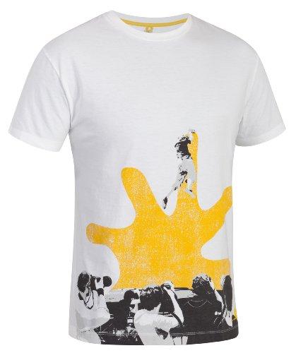 SALEWA Herren T-Shirt Callforhero Co M Short Sleeve Tee White/2040