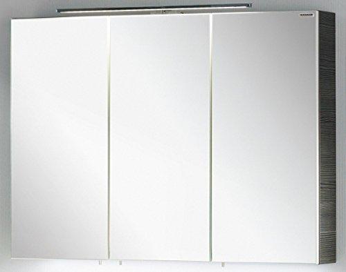 FACKELMANN Spiegelschrank Vadea, Pinie anthrazit Nachbildung