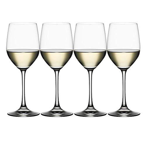 Spiegelau & Nachtmann, 4-teiliges Weißweinglas-Set, Kristallglas, 340 ml, Vino Grande, 4510272 Vino Grande