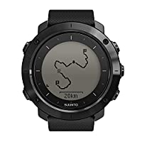 Suunto Unisex Traverse Gps Outdoor Watch with Sapphire Lens, Black, One Size