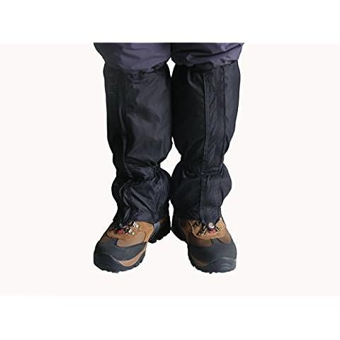 Ghette per cammino 150D Oxford piedi le ghette antivento impermeabile cerniera gamba Pradesh