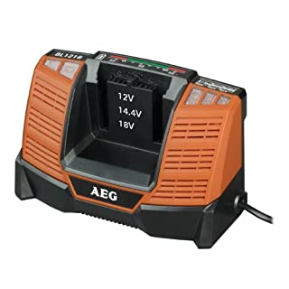 AEG Power Tools BL1218P 30 Minute Multi-Chemistry Charger, 12-18 V