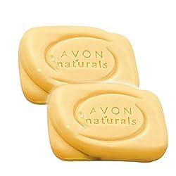 Avon Naturals Bath Soap - (Papaya) - set of 2