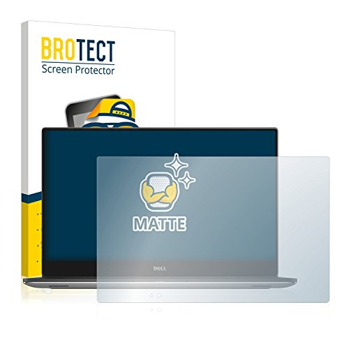 BROTECT Schutzfolie Matt kompatibel mit Dell Precision 5520 - Anti-Reflex, Anti-Fingerprint, Anti-Kratzer