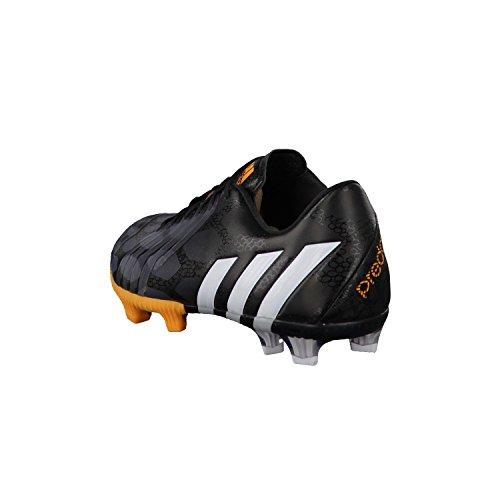 Predator Instinct LZ TRX FG - Chaussures de Foot Noir/Blanc/Or Noir