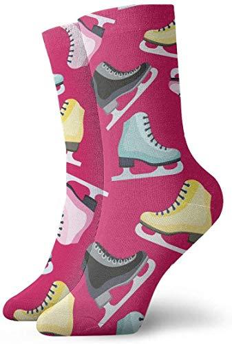 uytrgh Frauen Crew Socken Schlittschuh Knöchel Kleid Socken Neuheit Socke