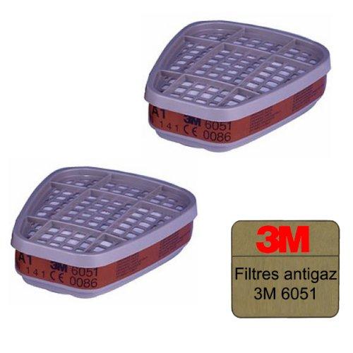 Filtres antigaz 3M 6051 A1 x 2