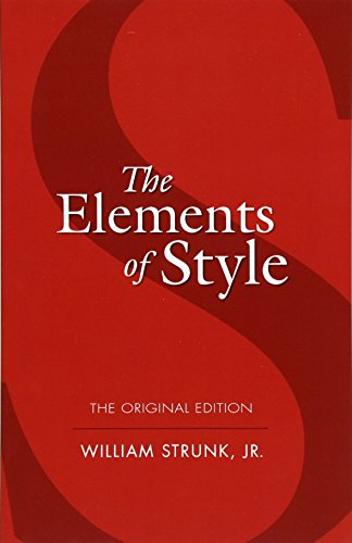 The Elements of Style (Dover Language Guides) por William Strunk Jr