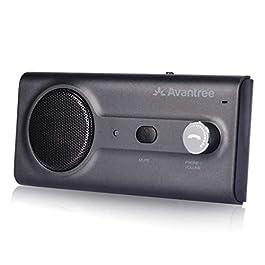 Avantree CK11 NUOVO Kit Vivavoce Bluetooth per Auto, College a Siri e a Google Assistant, Auto Accensione, con…