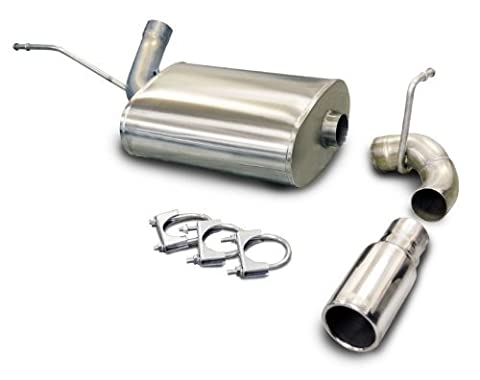 CORSA 24411 Single Exit Cat-Back Exhaust System for Jeep Wrangler JK by Corsa