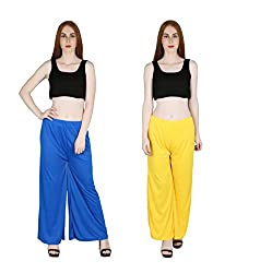 marami trouser blue yellow