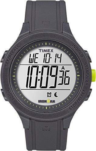 Timex TW5M14500 Unisex-Armbanduhr für Erwachsene mit Quarz-Uhrwerk, Digitalanzeige und Resin-Uhrenband. (Uhren Timex Für Frauen)