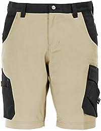 FHB Zunfthosen 130530-1012-44 Theo Bermuda Shorts in weiß/anthrazit