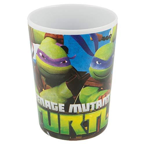 Gobelet mélamine 200 ml. Tortues Ninja