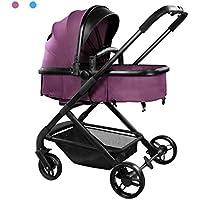 Triciclos Puede Sentarse Plegable Plegable de Acero de Alto Carbono Plegables Silla de Paseo de bebé