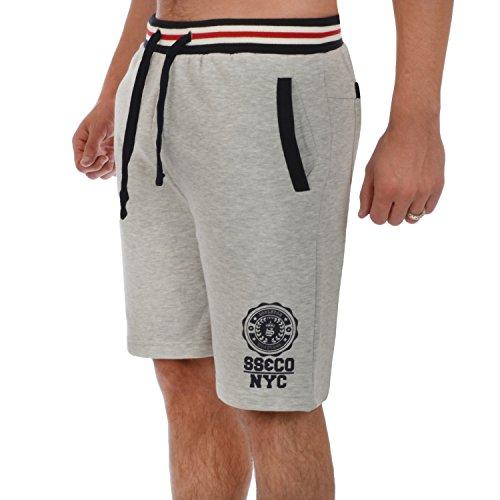 Soul Star da uomo in pile pantaloncini Grey