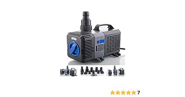 3000l//h 10W SuperECO Teichpumpe Bachlaufpumpe Filterpumpe Teich CTP2800