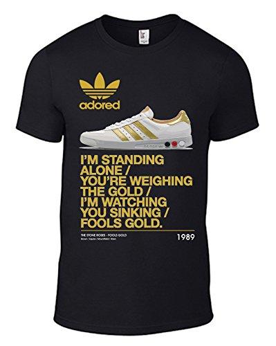 the-stone-roses-fools-gold-kegler-trainer-lyrics-t-shirt-with-adored-cd-logo-all-sizes-mens-unisex-b