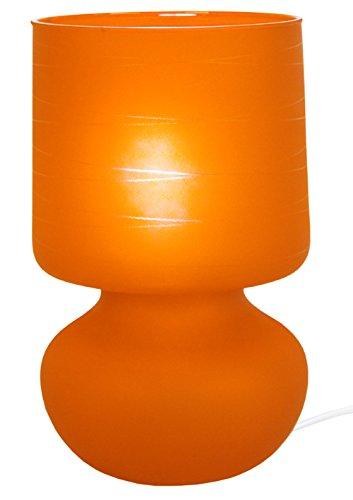 Tosel 62391 Lampe de Chevet Katia Verre 60 W E14 Orange