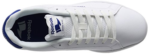 Reebok Bd5474, Sneakers basses homme Blanc Cassé (White/collegiate Royal)