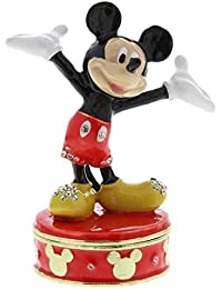 Mickey Mouse Licenced Collectible Disney Classic Trinket Box by Disney