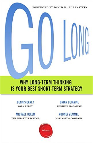 Go Long: Why Long-Term Thinking Is Your Best Short-Term Strategy (English Edition)