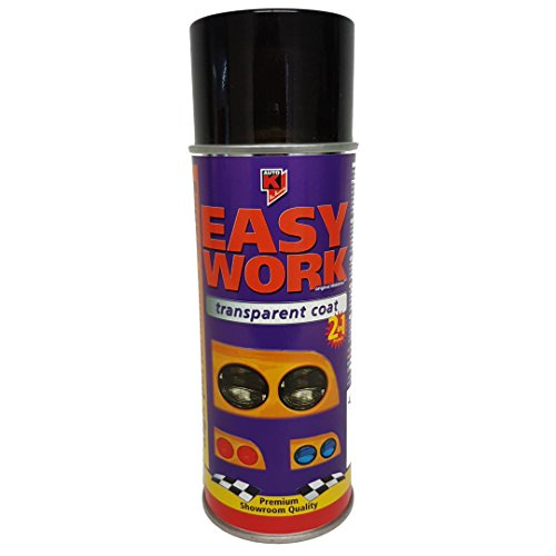 Preisvergleich Produktbild Easy Work 234703 Transparent coat Black (400 ml)